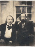 Victor Hugo and Auguste Vacquerie Photographic Print