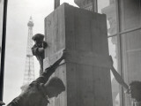 Demolition Work at the Trocadero in Paris, 1935 Photographic Print