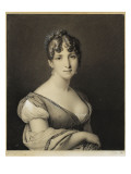 Laugier, Portrait of Queen Hortense Giclee Print by Jean-Nicolas Laugier