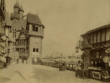 Paris, 1900 World Exhibition, The Pavillon Du Vieux Paris Photographie par Brothers Neurdein