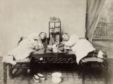 China, Opium Smokers Photographic Print
