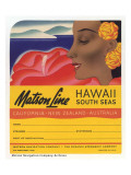 Matson Line, Hawaii and South Seas Giclee Print