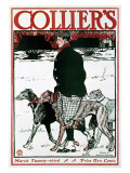 March Colliers Greyhound Giclee Print