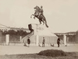 Russia, Statue of Peter the Great in St. Petersburg Photographic Print