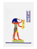 Thout Thoth Psychopomp Giclee Print by Jean-Fran?s Champollion