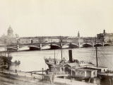 Russia, View of St. Petersburg and the Neva River Photographic Print