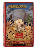 "Jules Verne, ""Foundling Mick"", Cover Giclee Print by Jules Verne"