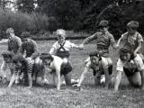 "Play Time at the ""Secours National"" Supervisors"" School Photographic Print"