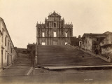 Old Church at Macao (China) Photographic Print