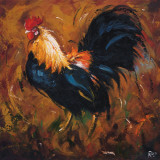 Rooster, no. 502 Prints by  Roz