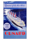 Cunard Line, Romance of the World Giclee Print by  Jarvis