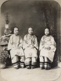 China, Portrait of Young Girls Photographic Print