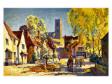 Suffolk, British Rail Giclee Print by Jack Merriott