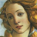 The Birth of Venus, c.1485 (detail) Poster von Sandro Botticelli