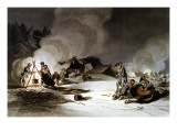 """The Miseries of the French Grand Army..."""" Giclee Print"""