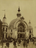 Paris, 1900 World Exhibition, Palace of Education and Teaching Photographic Print