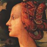 Portrait of Simonetta Vespucci (detail) Prints