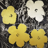 Flowers (Yellow and White), c.1966 Art by Andy Warhol
