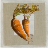 Carottes Prints by Nathalie Andrieu