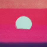 Sunset, c.1972 40/40 (fuchsia) Plakat af Andy Warhol
