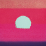 Sunset, c.1972 40/40 (fuchsia) Print by Andy Warhol