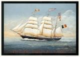 Mercator Trois Mats Barque Affiches par Dominique Perotin