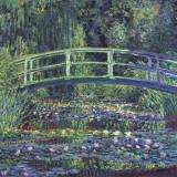 Claude Monet - Water Lily Pond, c.1899 (blue) - Tablo