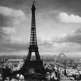 The Eiffel Tower, Paris France, c.1897 Pster por Tavin