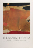 Santa Fe Opera, 2008 Festival Season Print by Richard Diebenkorn