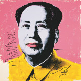 Mao, c.1972 (yellow shirt) Poster by Andy Warhol