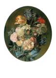 Blumenstrauß I Poster von Luis Paret y Alcazar