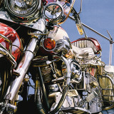 Motorcycle I Prints by David Parrish