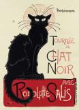 Tournée du Chat Noir, c.1896 Posters por Théophile Alexandre Steinlen