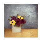 Gänseblümchen I mit Vers Kunst von Anouska Vaskebova