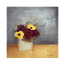 Pansies I Prints by Anouska Vaskebova