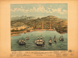 View of San Francisco, c.1846-7 Poster