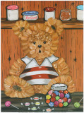Nounours Et Bonbons Poster by Willy Renoux