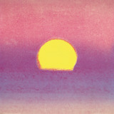 Sunset, c.1972 40/40 (lavender) Affiches par Andy Warhol