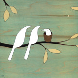 Baby Bird Posters by Kristiana Pärn