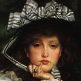 Lady in a Boat (detail) Posters by James Tissot