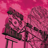 Cotton Candy Wonder Wheel Posters by Erin Clark