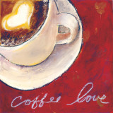 Café Amore IV Prints by Tara Gamel