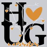 Hug (Fall) Prints by Erin Clark