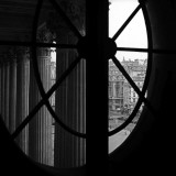 From a Window of the Louvre Affiches par Tom Artin