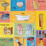 Bathroom Accessories Prints by C. Gandini
