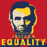 Abraham Lincoln: Honesty, Freedom, Equality - Art Print