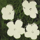Flowers (White), c. 1964 Poster von Andy Warhol