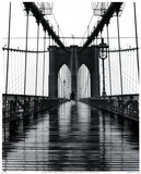 Pont de Brooklyn, New York Poster par Christopher Bliss