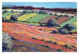 Pastel Landscape X Affischer av Jacques Clement