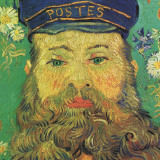 Joseph Roulin (detail) Prints by Vincent van Gogh